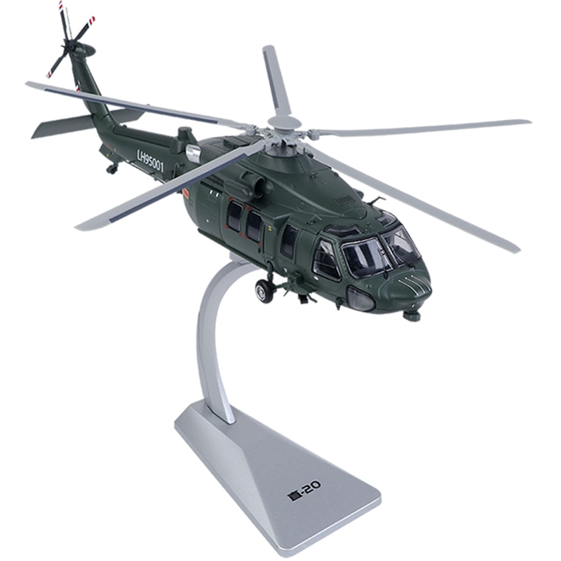 155 modelo de decoracao estatica de helicoptero linear com 20 modelos z20 presente