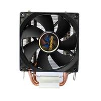 hydraulic bearing cpu cooler fan for intel lga 775 1155 1156 amd am3 dual pipes 2 heatpipes radiator 90mm cooling heat sink