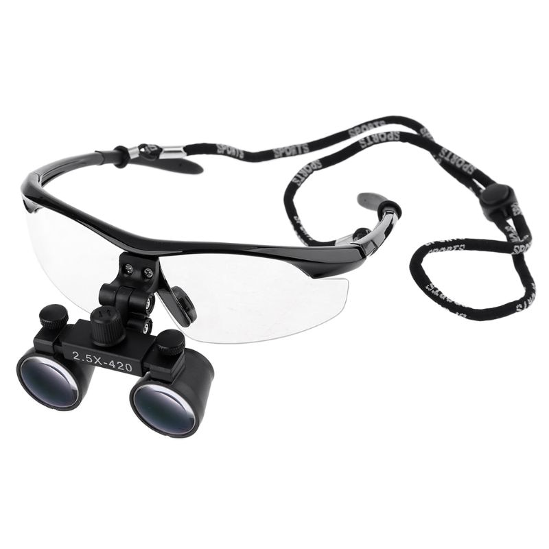 Dental Loupes 2.5X 3.5X Magnification Binocular Medical Magnifier Dentistry Surgical Optical Glass Lens Dentist loupe magnifier surgical glasses 2 5x 3 5x dental loupes medical magnifier coated optical lens with clip for dentist surgical