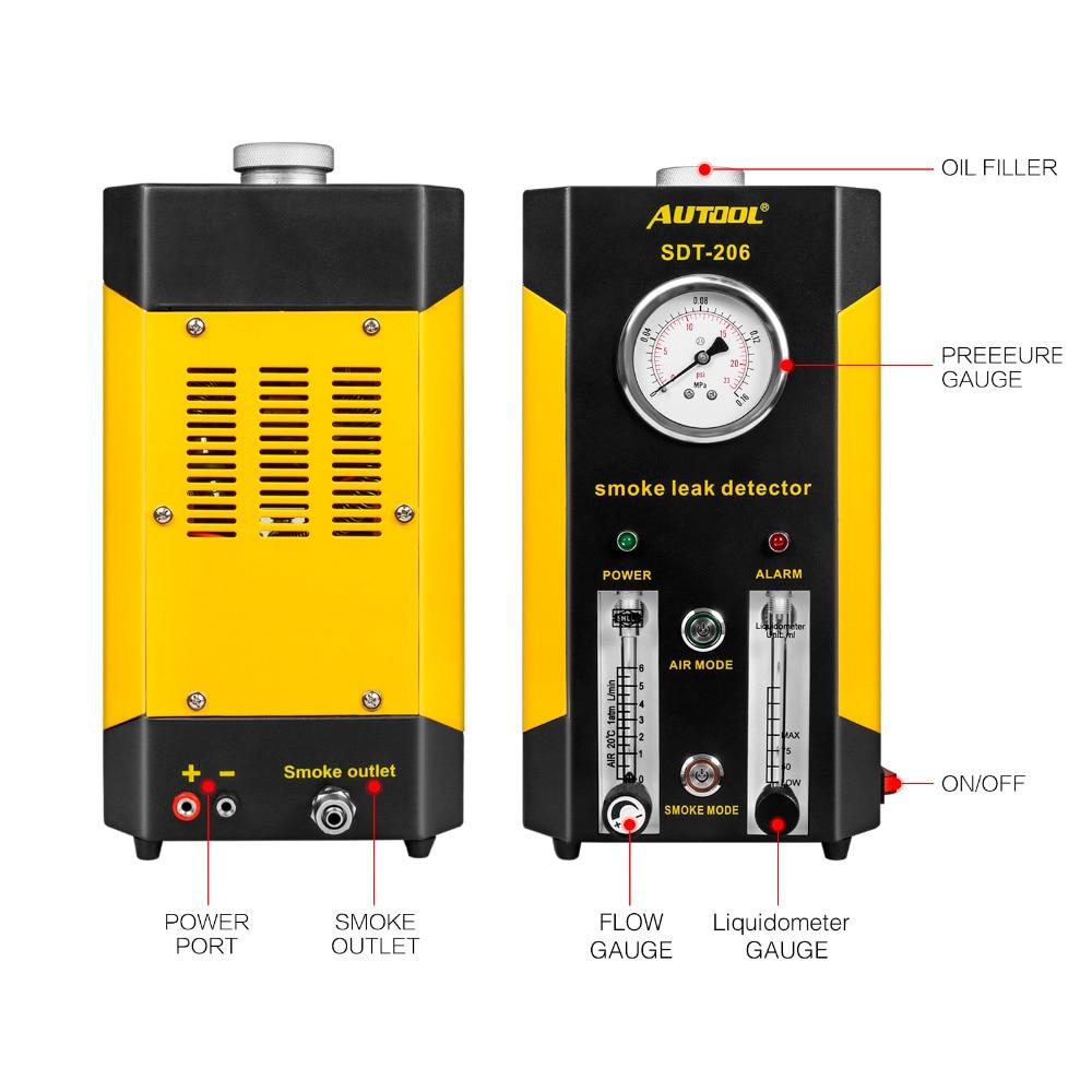 Проверка дыма OEM / ODM от производителя, проверка утечки в цилиндре, автомобильный детектор газа сжиженного углеводородного газа, ограничител...