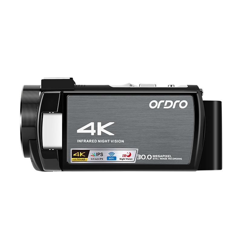 Ordro-كاميرا فيديو AE8 4K ، كاميرا رقمية ، مع WiFi ، رؤية ليلية ، لمدونات فيديو YouTube ، تصوير