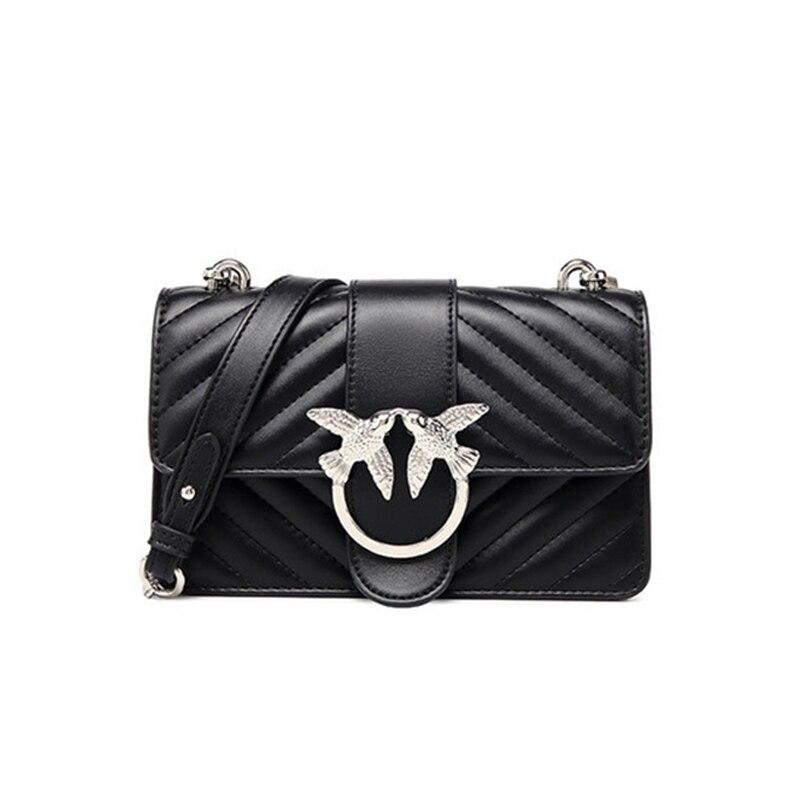 Luxury Shoulder Bags For Women 2020 New Fashion Bird Bag High Quality Leather Crossbody Bag Female Brand Designer Chain Handbags