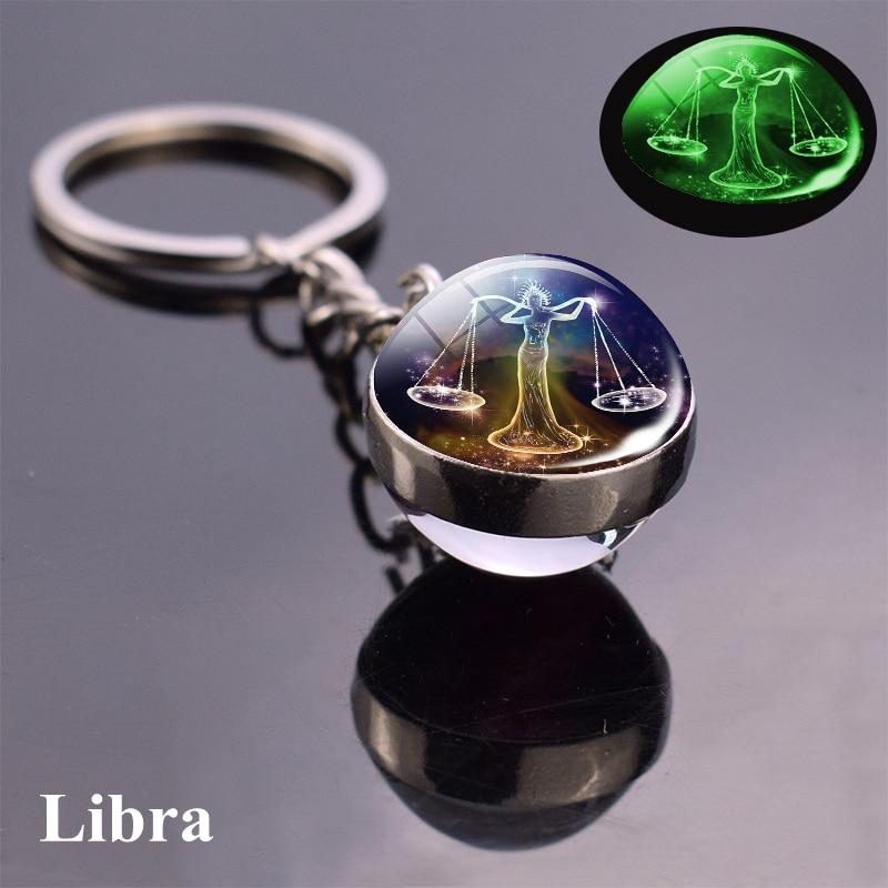 12 sazviježđa svijetleći privjesak od staklene kuglice privjesak - Modni nakit - Foto 5