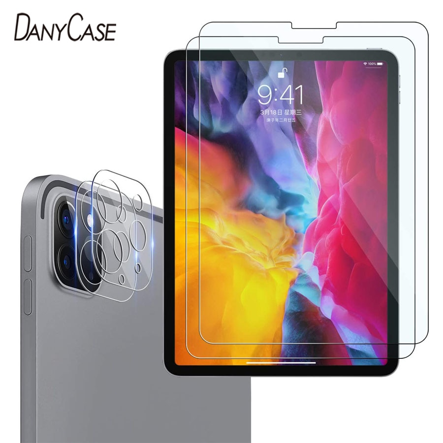 For 2020 iPad Pro 11 12.9 Tempered Glass Screen Rear Camera Lens Film Protector For Apple iPad Pro 12.9 11 2020 Screen Protector