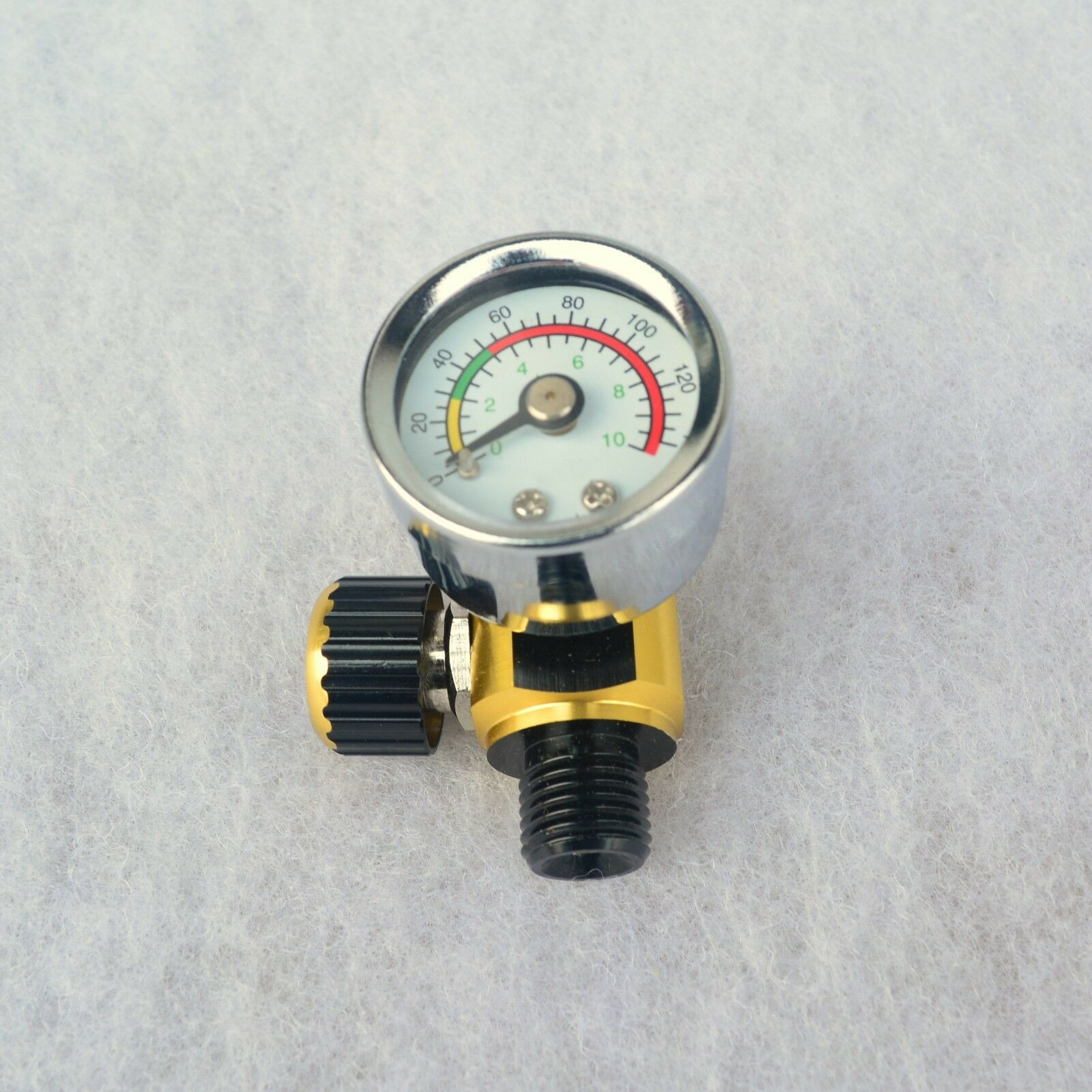 Para devilbiss & iwata spray de controle ar do carro regulador de pressão calibre equipamentos válvula alívio pressão 100% novo