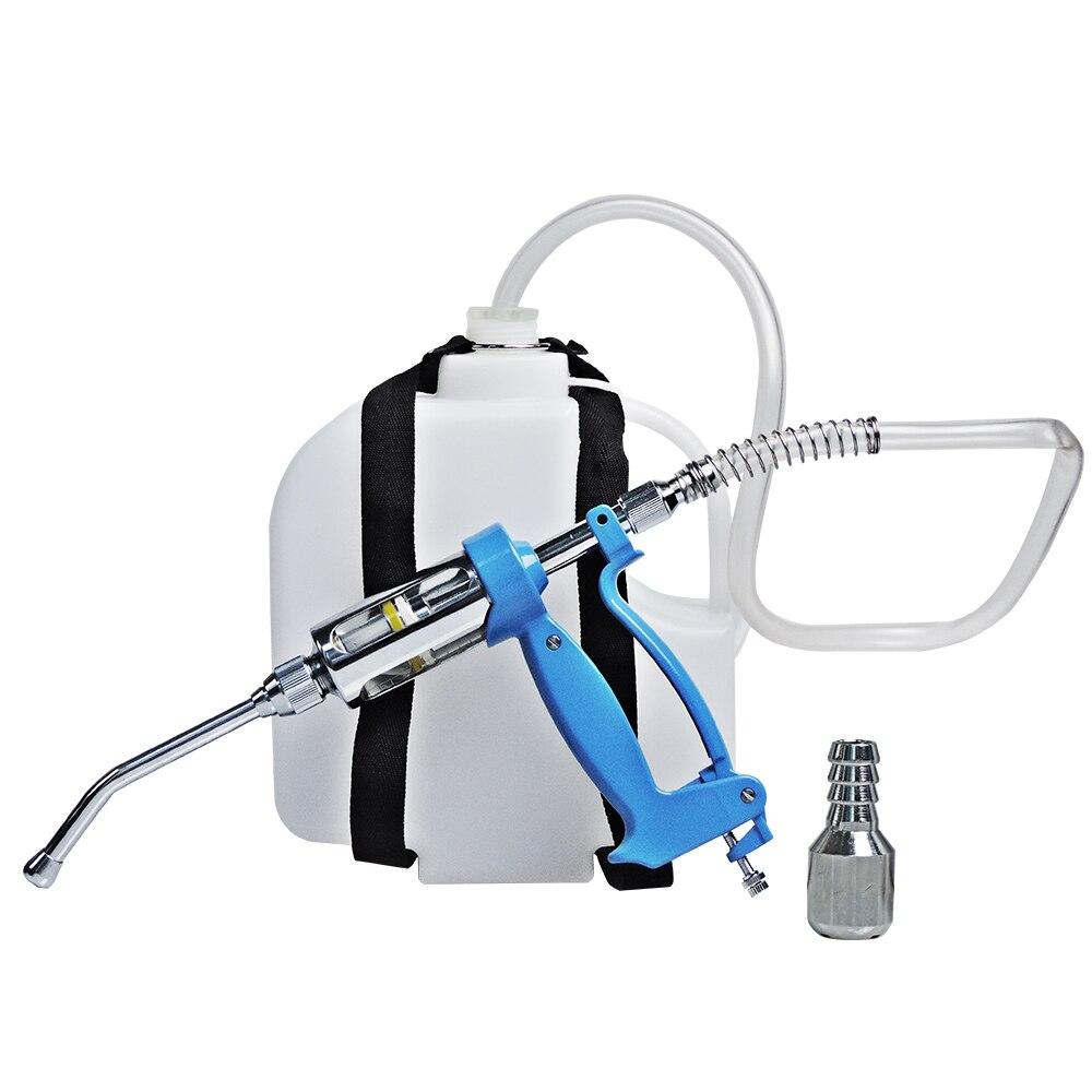 Alimentador automático de arma de alimentación continua Drencher de 50ml para mochila de ganado, pistola de medicina para maceta, herramienta para granja de botellas de 3L