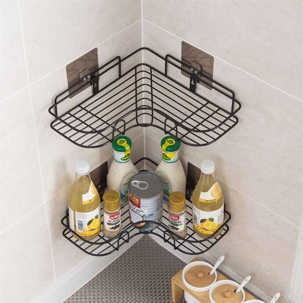 מדף מקלחת צף ללא הברגות