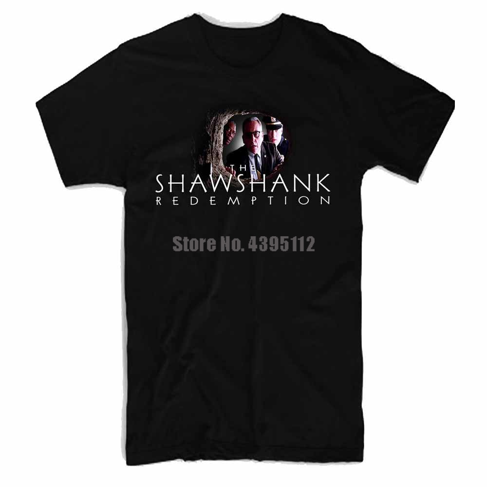 The Shawshank Redemption Movie Men Corgi Shirts Gothic T Shirts Hardcore Tshirt Meme T-Shirt Gym Clothing Wsaabr
