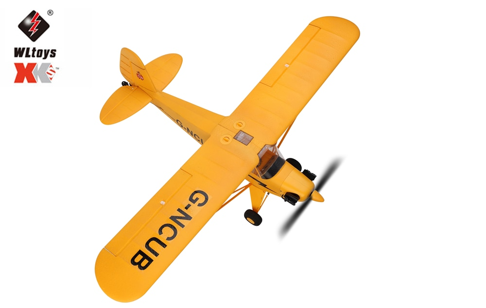 Hot sale Wltoys a160 J3 RC Plane RTF 2.4G Brushless Motor 3D/6G Remote Control Airplane ready to fly enlarge