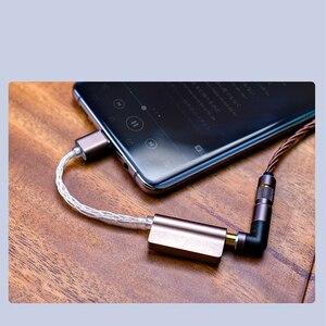 Image 5 - Кабель ЦАП DUNU DTC100 ESS9118EC, USB, диаметром 3,5 мм, усилитель для наушников, усилитель PCM 24 бит/384 кГц DSD256 для телефонов Android DTC 100
