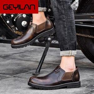 Мужские ботинки челси, черные кожаные ботинки до щиколотки, Осень-зима 2020