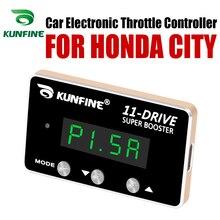 KUNFINE controlador electrónico de acelerador de coche Racing acelerador potente Booster para HONDA CITY Tuning partes accesorio 11 Drive