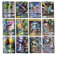 pokemon cards gx ex mega tag team shining cards pokemon booster box collection trading card game toy for children christmas gift