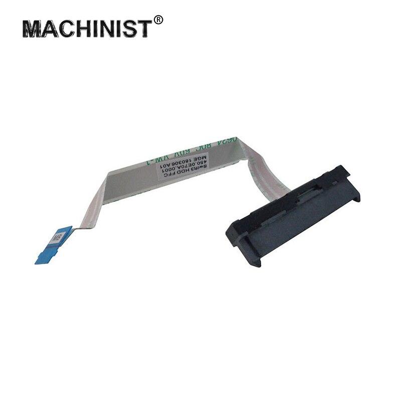 Для жесткого диска с соединяющим гибким кабелем для acer Swift 3 SF314-54 SF314-56 SF314-41G жесткий диск SATA жесткий диск SSD адаптер провода 450.0E70A.0001