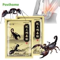 8pcs ant scorpion venom arthritis joint pain relief plaster rheumatism shoulder herb patch knee neck back orthopedic stickers