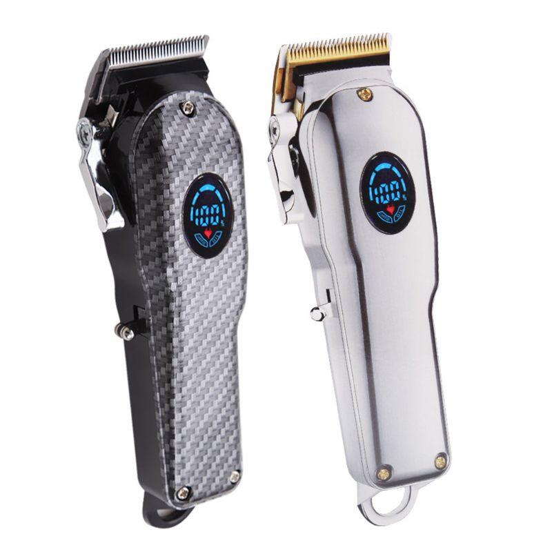 1Set Electric Hair Clipper USB Charging Hair Trimmer Beard Shaver Professional Barber Men Haircut Kit Tools