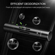 Odświeżacz powietrza do samochodu wylot perfumy kreatywny zapach samochodowy odświeżacz powietrza metalowy samochód światło pachnące dekoracja do wnętrza samochodu