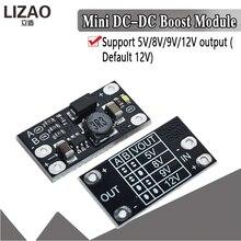 1.5A Mini Module de suralimentation multifonction 5V 8V 9V 12V indicateur LED bricolage Module de tension 3.7V batterie au lithium