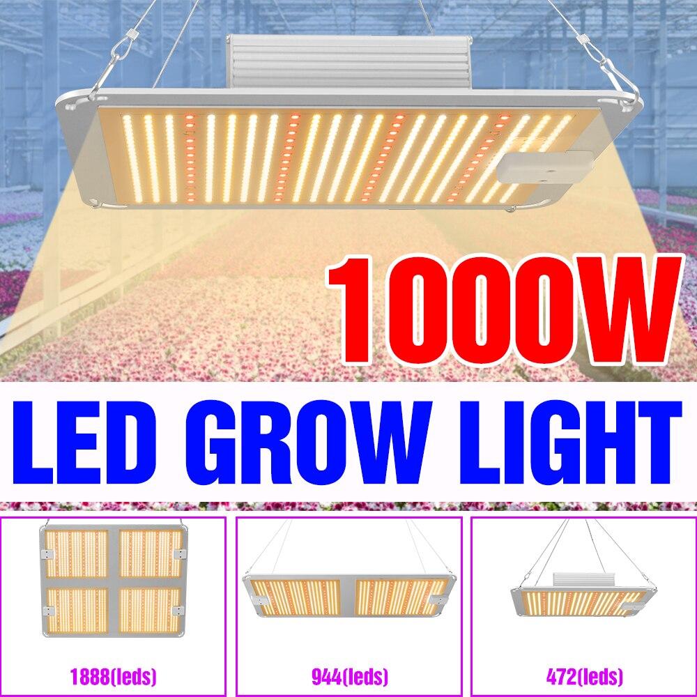 220V Grow Lights LED Plant Tent Lamp LED Phytolamp 110V Full Spectrum Lampara Indoor Lighting LED Panel Bulb 2000 4000W Bombilla enlarge