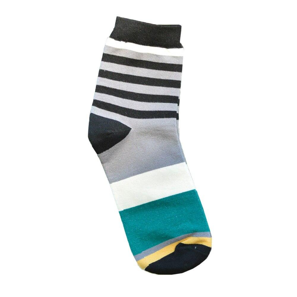 Perimedes esportes masculinos ciclismo corrida meias casuais meias de algodão médio designer multicolorido listrado esportes de secagem rápida meias
