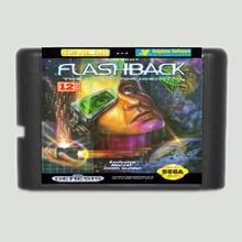 Flashback 16 Bit Game Card Voor Sega Mega Drive & Sega Genesis