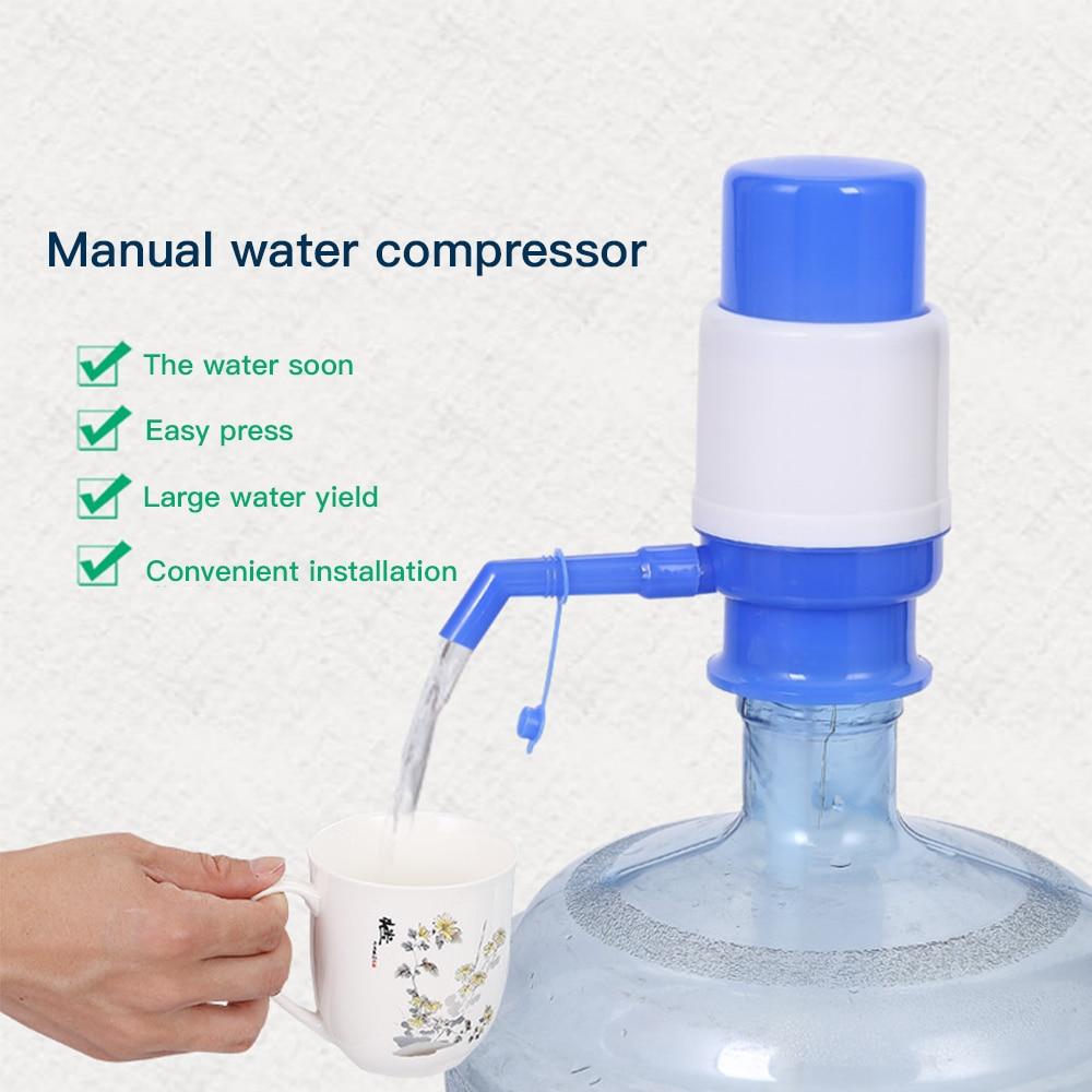 5 galões garrafa de água potável imprensa mão removível tubo inovador manual bomba dispensador ferramentas para cozinha ao ar livre bomba escritório