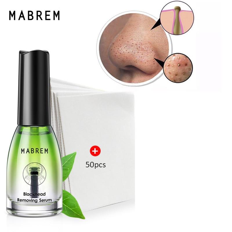 MABREM Blackhead Remover Face Nose Mask Pore Strip Black Mask Peeling Acne Treatment Deep Cleansing
