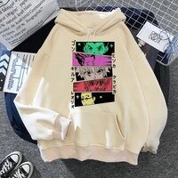 hunter x hunter hoodie funny cartoon winter hooded manwoman aesthetic japanese anime hoodies sweatshirt unisex