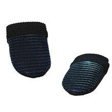 1 paire anti-transpiration respirant Mobile doigt décrochage sensible jeu contrôleur doigt manches lits pour jeu tactile déclencheur Accessori