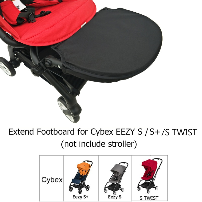 Baby Stroller Accessories Seat Extend Board Adjustable Footboard Extension 30cm Footrest for Cybex E