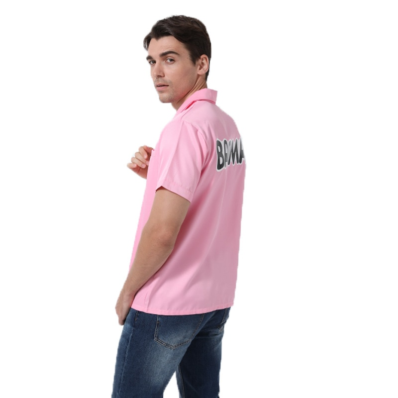WXCTEAM, Dragon Ball Z Vegeta, camisetas Rosa BADMAN, camiseta de Cosplay para Halloween, vestidos de fiesta, Tops, envío directo a ee.uu.