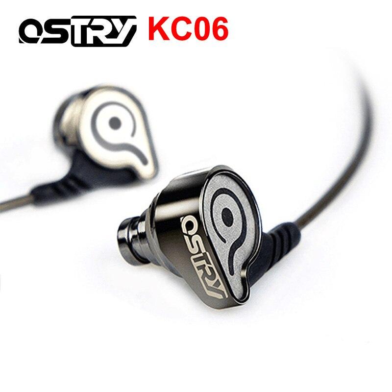 Fones de Ouvido de Alto Ostry Alta Fidelidade In-ear Desempenho Lossless Ruído Estéreo Metal Canselling Kc06