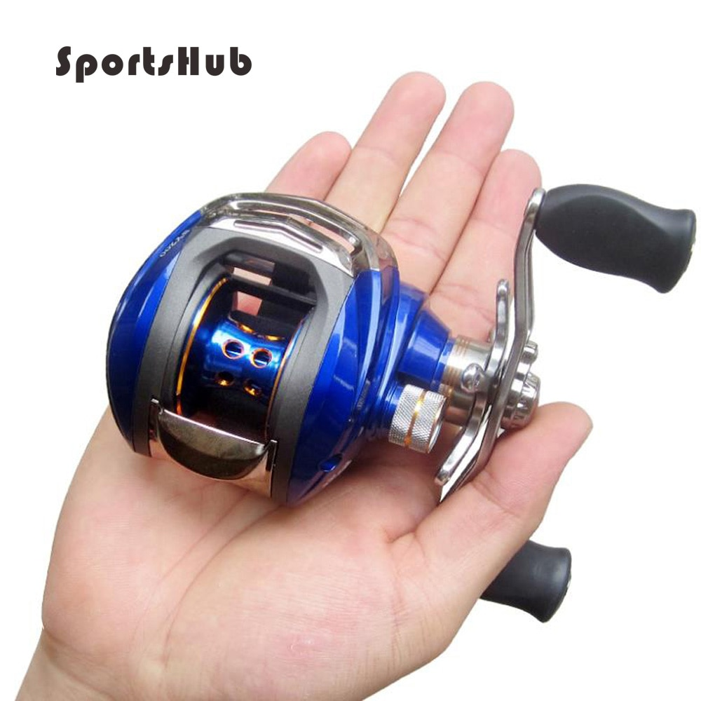 SPORTSHUB Professional 14 Bearing Casting Fishing Wheel Ultra-light Drum Left or Right Fishing reels Baitcaster Reel FT0017