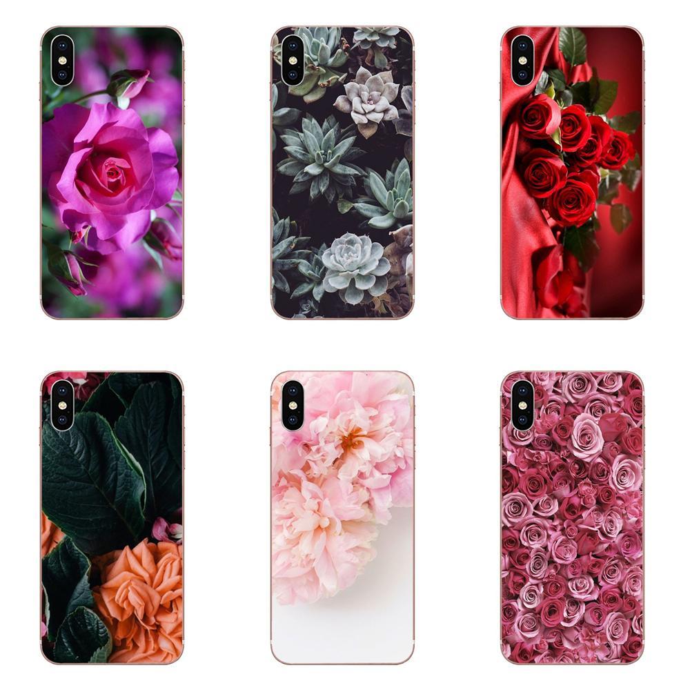 Rosa Flores para Samsung Galaxy J1 J2 J3 J330 J4 J5 J6 J7 J730 J8 2015, 2016, 2017, 2018 mini Pro Venta caliente de diseño de moda