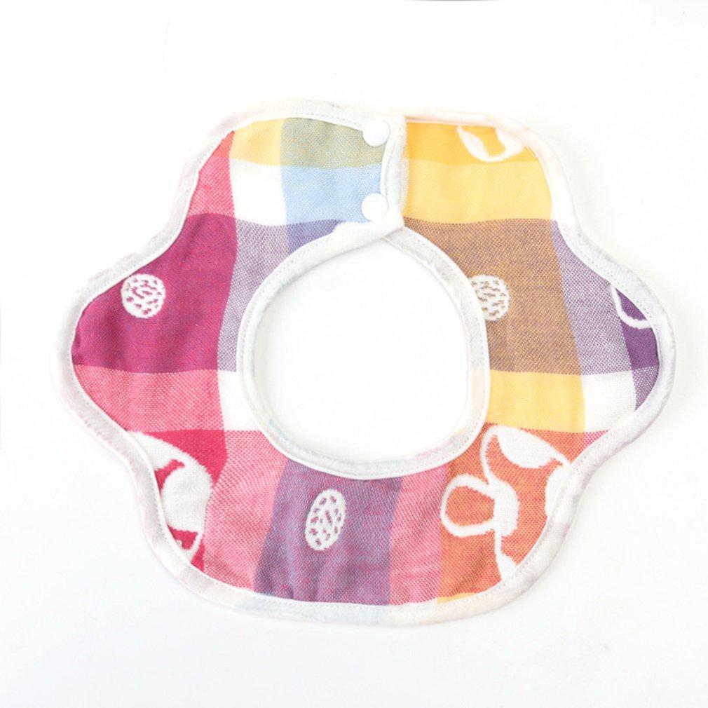 Новые детские нагрудники бандана вращение на 360 градусов 6 слоев Марля мягкое слюнявчик для новорожденных Детское полотенце детские нагруд...