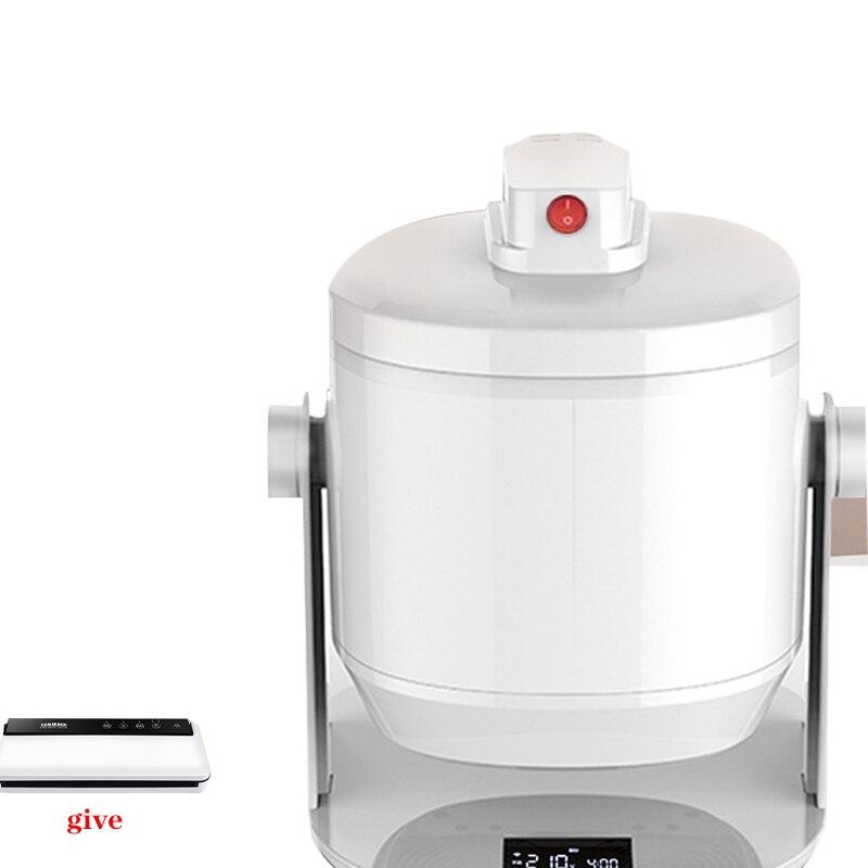 GT7H3K مقلاة الهواء 220 فولت المنزلية الذكية 6L سعة كبيرة متعددة الوظائف خالية من الزيت صحية مقلاة كهربائية 2400 واط ماكينة طهي