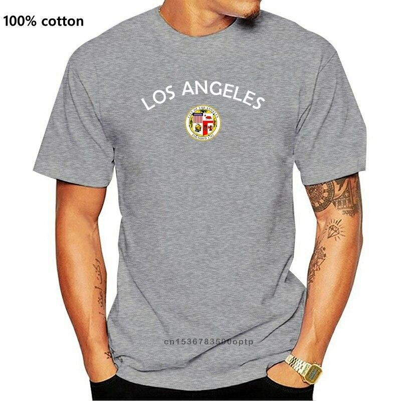 Los ángeles Camiseta Hombre - Negro - Con Emblema - S Hasta...