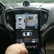 Android HD tactile écran vertical voiture GPS navigation pour-Maserati GHIBLI 2014 2015 2016 voiture stéréo radio multimédia lecteur DVD
