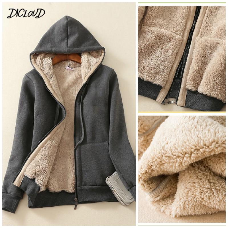 Plus Size Womens Cashmere Winter Warm Coats Thick Parka Warm Hooded Coat Women Jacket Winter Parka B