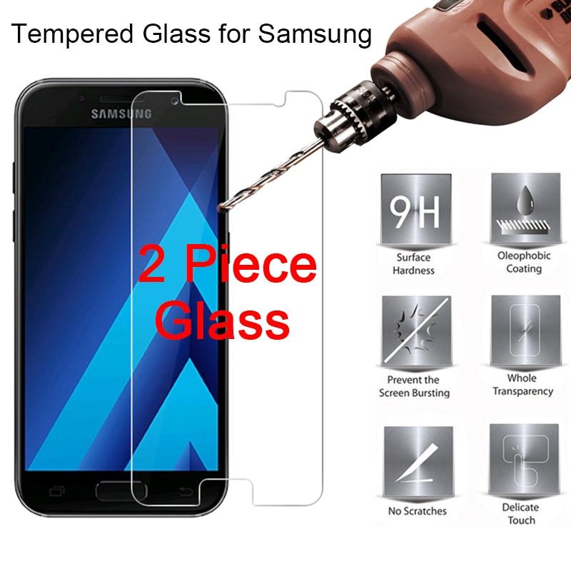 Закаленное стекло для samsung J2 Ace Grand Prime Core, Защитная пленка для экрана, 2 штуки, Защитное стекло для samsung J1 Mini Prime HD