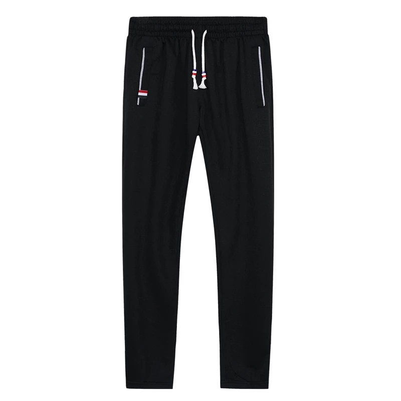Big Size Mens Joggers Casual Pants Fitness Men Sportswear Tracksuit Bottoms Skinny Sweatpants Trousers Gyms Jogger Track Pants