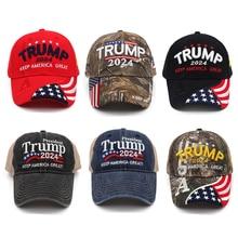 Donald Trump 2024 MAGA Hat Cap Baseball Camo USA KAG Make Keep America Great Again Snapback President Hat Hiking Caps
