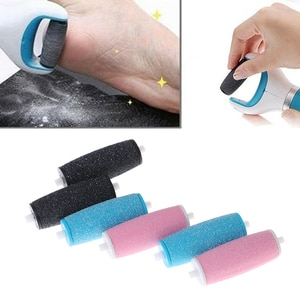 4PCS/8Pcs/10Pcs Polish Foot Care Tool Heads Hard Skin Remover Refills Replacement Rollers For Feet Care Tool