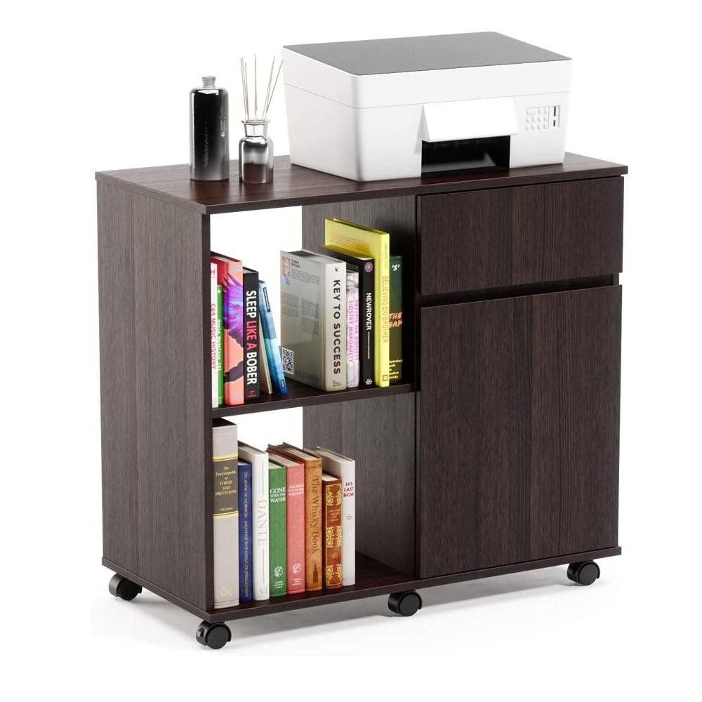 Фото - S-Shaped 5 полки книжный шкаф, деревянный z-образный 5-уровневый винтажный промышленный шкаф-полка для домашнего офиса Livin шкаф jazz 4dg2s z