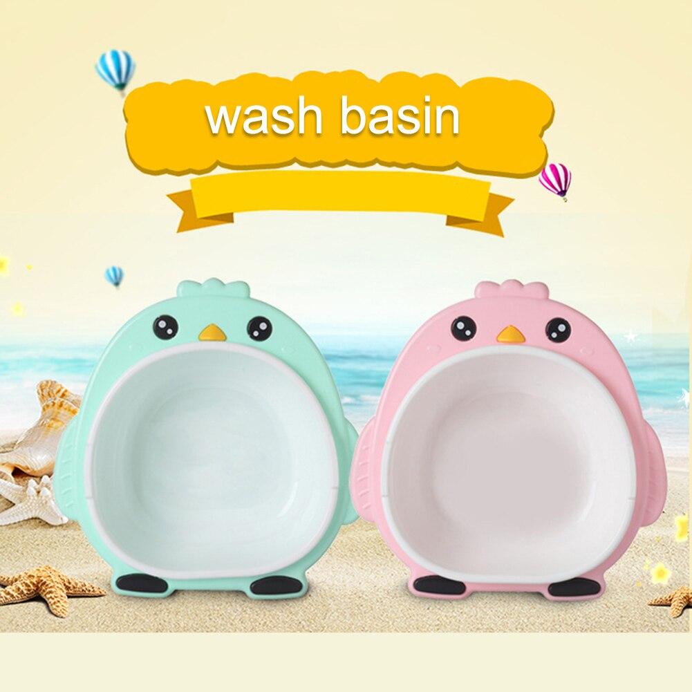 Banheira de banho de lavagem recém-nascido banheira & chuveiro produtos bonito dos desenhos animados crianças lavatório infantil dos desenhos animados chick banheiras de lavagem para cuidados com o bebê