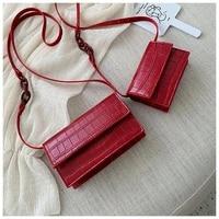 women mini pu leather women bag fashion crocodile shoulder bag designer brand ladies purses messenger crossbody bags for women