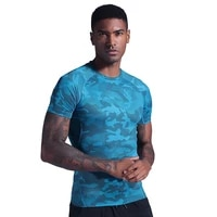 mans t shirt compression t shirts men workout sports running t shirt short sleeve jogger tshirt fitness exercise gym clothes