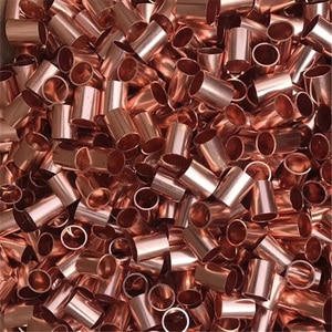 50pcs Copper Tube(Outer Diameter X Wall Thickness X Length),Many Sizes For Choice