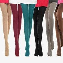 Home&Nest Candy Color Leggings  Super Elastic Stockings Autumn Burnish Opaque Leggings Trample Medias De Mujer 2020 New
