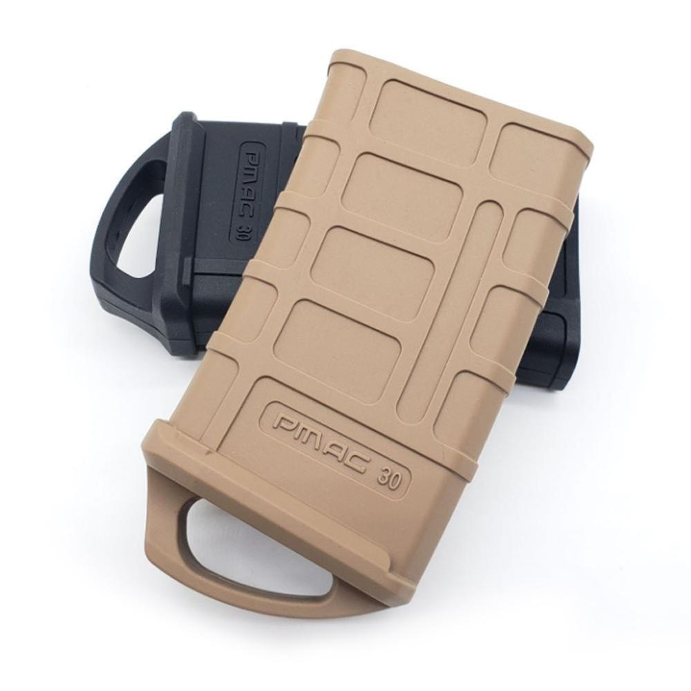M4/M16 Rubber Holster Hunting Tactical Rubber Bag 5.56 Mag Bag Water Hunt Box Toy Ammo Bag Water Gun Cartridge Accessories